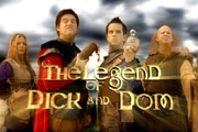 The Legend Of Dick And Dom. Copyright: BBC.