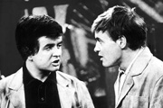 The Likely Lads. Image shows from L to R: Bob Ferris (Rodney Bewes), Terry Collier (James Bolam). Copyright: BBC.