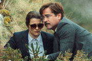 The Lobster. Image shows from L to R: Short Sighted Woman (Rachel Weisz), David (Colin Farrell).