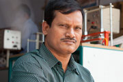 The real Arunachalam Muruganantham. Copyright: BBC.