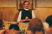 The Missionary. Charles W. Fortescue (Michael Palin). Image credit: Hand Made Films.