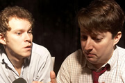 The Mitchell And Webb Situation. Image shows from L to R: Robert Webb, David Mitchell. Copyright: BBC.