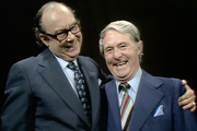 The Morecambe & Wise Show. Image shows from L to R: Eric Morecambe, Ernie Wise. Copyright: Thames Television.