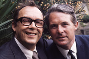 The Perfect Morecambe & Wise. Image shows from L to R: Eric Morecambe, Ernie Wise. Copyright: BBC.