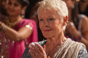 The Second Best Exotic Marigold Hotel. Evelyn Greenslade (Judi Dench). Copyright: Blueprint Pictures.