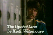 The Upchat Line. Mike Upchat (John Alderton). Copyright: Thames Television.