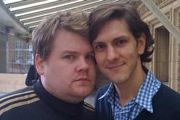 Image shows from L to R: James Corden, Mathew Baynton.