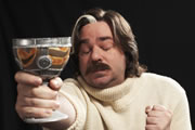 Toast Of London. Steven Toast (Matt Berry). Image credit: Objective Productions.