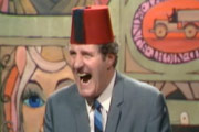 Tommy Cooper. Tommy Cooper. Copyright: London Weekend Television.