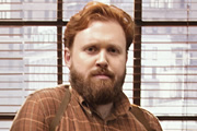Top Coppers. Mitch Rust (John Kearns). Copyright: Roughcut Television.
