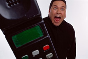 Trigger Happy TV. Dom Joly. Copyright: ABsoLuTeLy Productions.