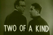Two Of A Kind. Image shows from L to R: Eric Morecambe, Ernie Wise. Image credit: Associated Television.