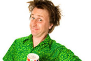 The Very World Of Milton Jones. Milton Jones. Copyright: Pozzitive Productions.