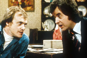Whatever Happened To The Likely Lads?. Image shows from L to R: Terry Collier (James Bolam), Bob Ferris (Rodney Bewes). Image credit: British Broadcasting Corporation.