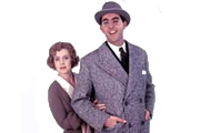 Wodehouse Playhouse. Image shows from L to R: Pauline Collins, John Alderton. Copyright: BBC.