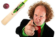 Yes, It's The Ashes. Andy Zaltzman. Copyright: Avalon Television.