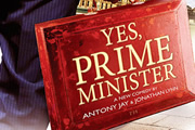 Yes Prime Minister - stage poster.