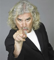 The 100 Greatest Stand-Ups. Billy Connolly. Image credit: Visual Voodoo Films.