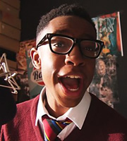 4 O'Clock Club. Josh Carter (Khalil Madovi). Image credit: British Broadcasting Corporation.