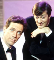 A Bit Of Fry & Laurie. Image shows from L to R: Hugh Laurie, Stephen Fry. Image credit: British Broadcasting Corporation.
