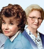 After Henry. Image shows from L to R: Sarah France (Prunella Scales), Eleanor Prescott (Joan Sanderson). Image credit: Thames Television.