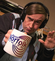 Alan Partridge's Mid Morning Matters. Alan Partridge (Steve Coogan). Image credit: Baby Cow Productions.