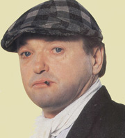 Andy Capp. Andy Capp (James Bolam). Image credit: Thames Television.