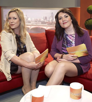 Anna & Katy. Image shows from L to R: Anna Crilly, Katy Wix. Image credit: Roughcut Television.