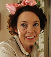 Bad Sugar. Joan Cauldwell (Olivia Colman). Image credit: Tiger Aspect Productions.