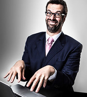 The Brig Society. Marcus Brigstocke. Image credit: Pozzitive Productions.