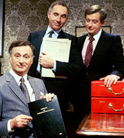 Yes Minister. Copyright BBC.