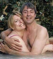 Carrie & Barry. Image shows from L to R: Carrie (Claire Rushbrook), Barry (Neil Morrissey). Image credit: Hartswood Films Ltd.