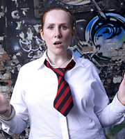 The Catherine Tate Show. Catherine Tate. Image credit: Tiger Aspect Productions.