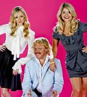 Celebrity juice image shows from l to r fearne cotton keith lemon