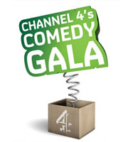 Channel 4's Comedy Gala. Copyright: Open Mike Productions.