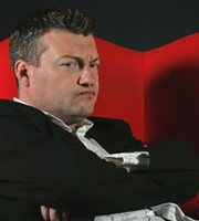 Charlie Brooker's Screenwipe. Charlie Brooker. Image credit: Zeppotron.