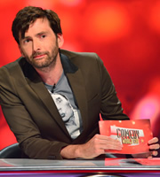 Comedy World Cup. David Tennant. Image credit: Open Mike Productions.