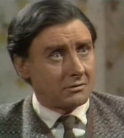 Curry & Chips. Kevin O'Grady (Spike Milligan). Image credit: London Weekend Television.
