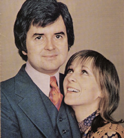 Dear Mother.... ....Love Albert. Image shows from L to R: Albert Courtnay (Rodney Bewes), Doreen Bissel (Liz Gebhardt). Image credit: Thames Television.