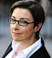 Dilemma. Sue Perkins. Image credit: British Broadcasting Corporation.