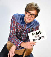 The Dog Ate My Homework. Iain Stirling. Image credit: British Broadcasting Corporation.