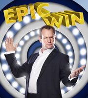 Epic Win. Alexander Armstrong. Image credit: British Broadcasting Corporation.