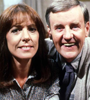 Ever Decreasing Circles. Image shows from L to R: Martin Bryce (Richard Briers), Ann Bryce (Penelope Wilton). Image credit: British Broadcasting Corporation.