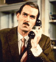 Fawlty Towers. Basil Fawlty (John Cleese). Image credit: British Broadcasting Corporation.