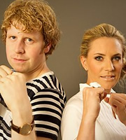 Fighting Talk. Image shows from L to R: Josh Widdicombe, Georgie Thompson. Image credit: World's End Productions.