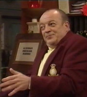 Heartburn Hotel. Harry Springer (Tim Healy). Image credit: British Broadcasting Corporation.