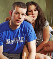 Him & Her. Image shows from L to R: Steve (Russell Tovey), Becky (Sarah Solemani). Copyright: Big Talk Productions.