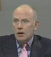 Hot Metal. Richard 'Dicky' Lipton (Richard Wilson). Image credit: London Weekend Television.