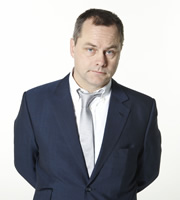 I'm Sorry I Haven't A Clue. Jack Dee. Image credit: British Broadcasting Corporation.