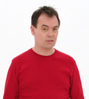 It's Kevin. Kevin Eldon. Copyright: BBC.